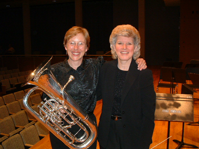 Laura Lineberger and Anita Cocker Hunt, IWBC 2003
