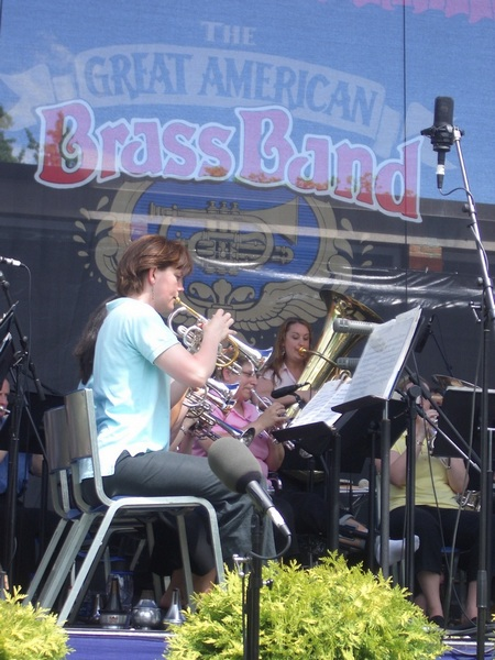 Amy Nelson and Athena Brass Band, GABBF 2005