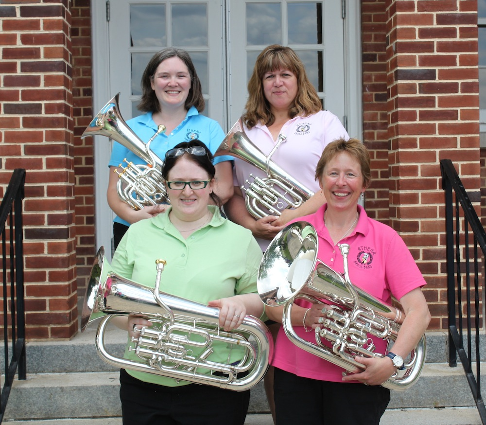 Euphoniums and Baritones, Athena Brass Band, Gettysburg Festival 2012